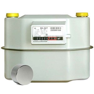 Счетчик газовый ВК G 6Т правый