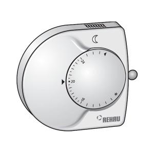 REHAU RAUMATIC M Терморегулятор для помещения 230 В  Артикул: 268974–002